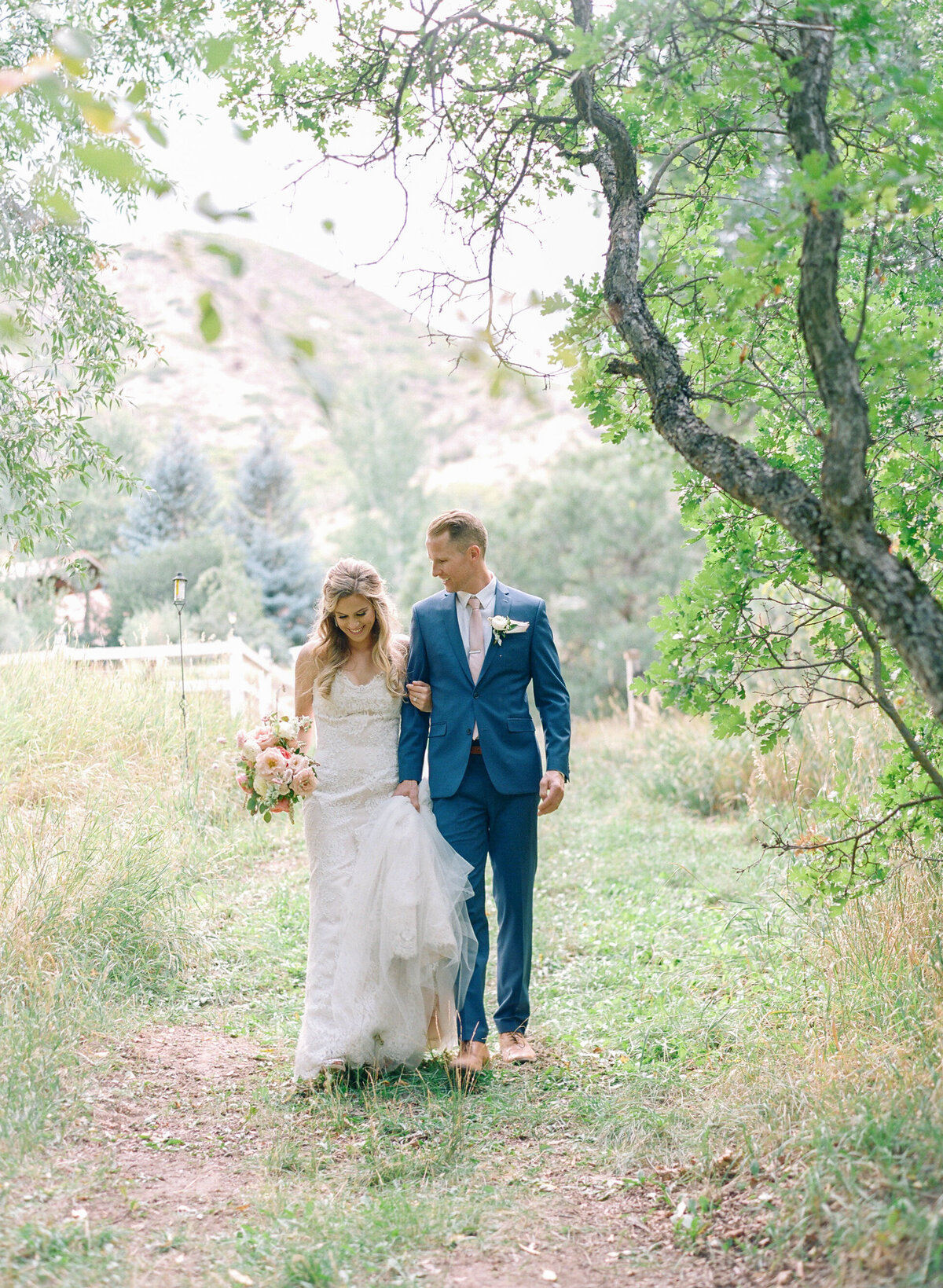 Aspen Wedding Photographer bride and groom