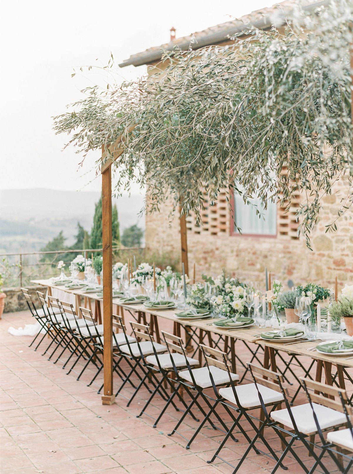 Tuscany Wedding Erica Nick - Lauren Fair Photography323