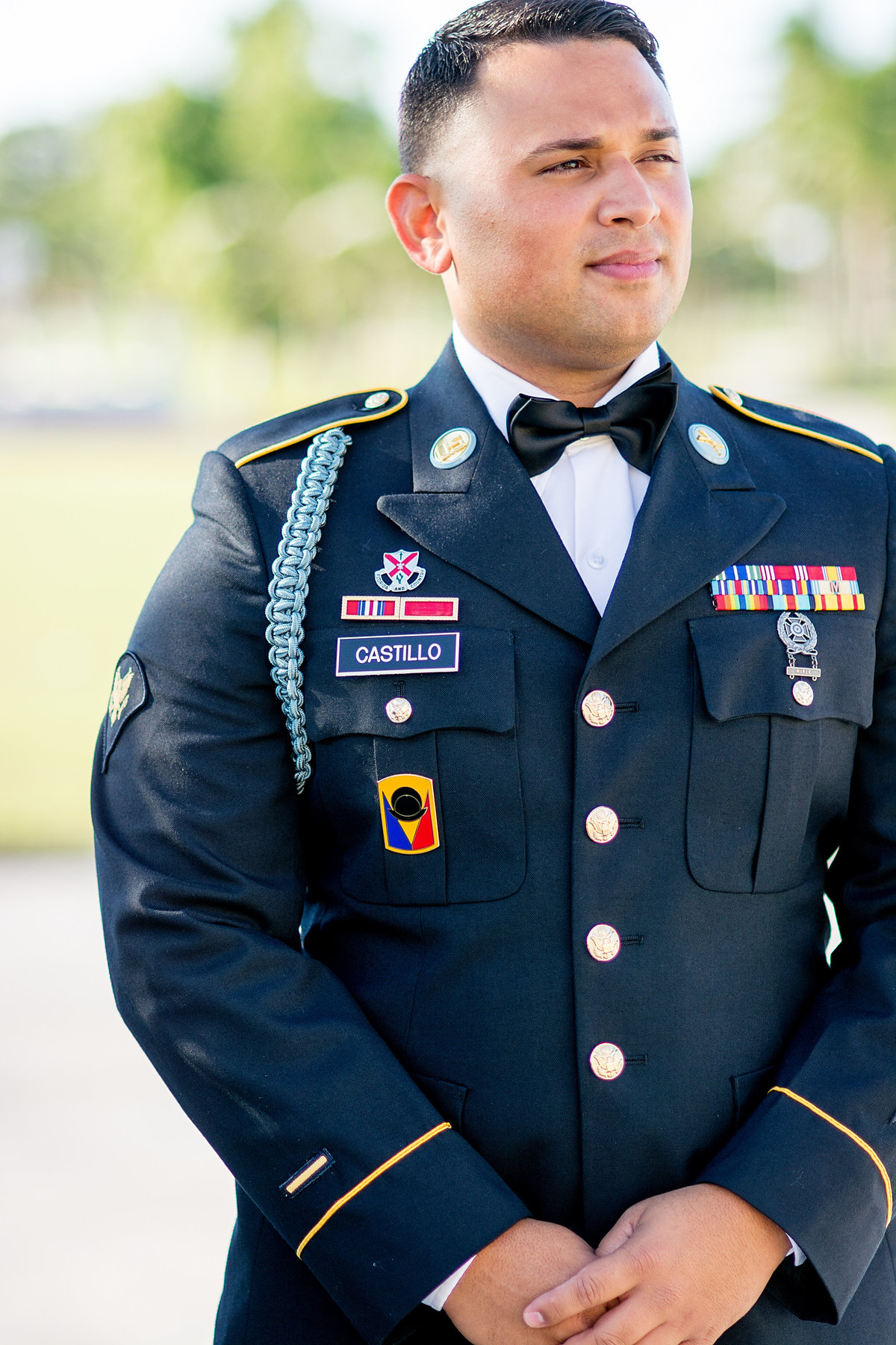 Veteran's Day Military Wedding
