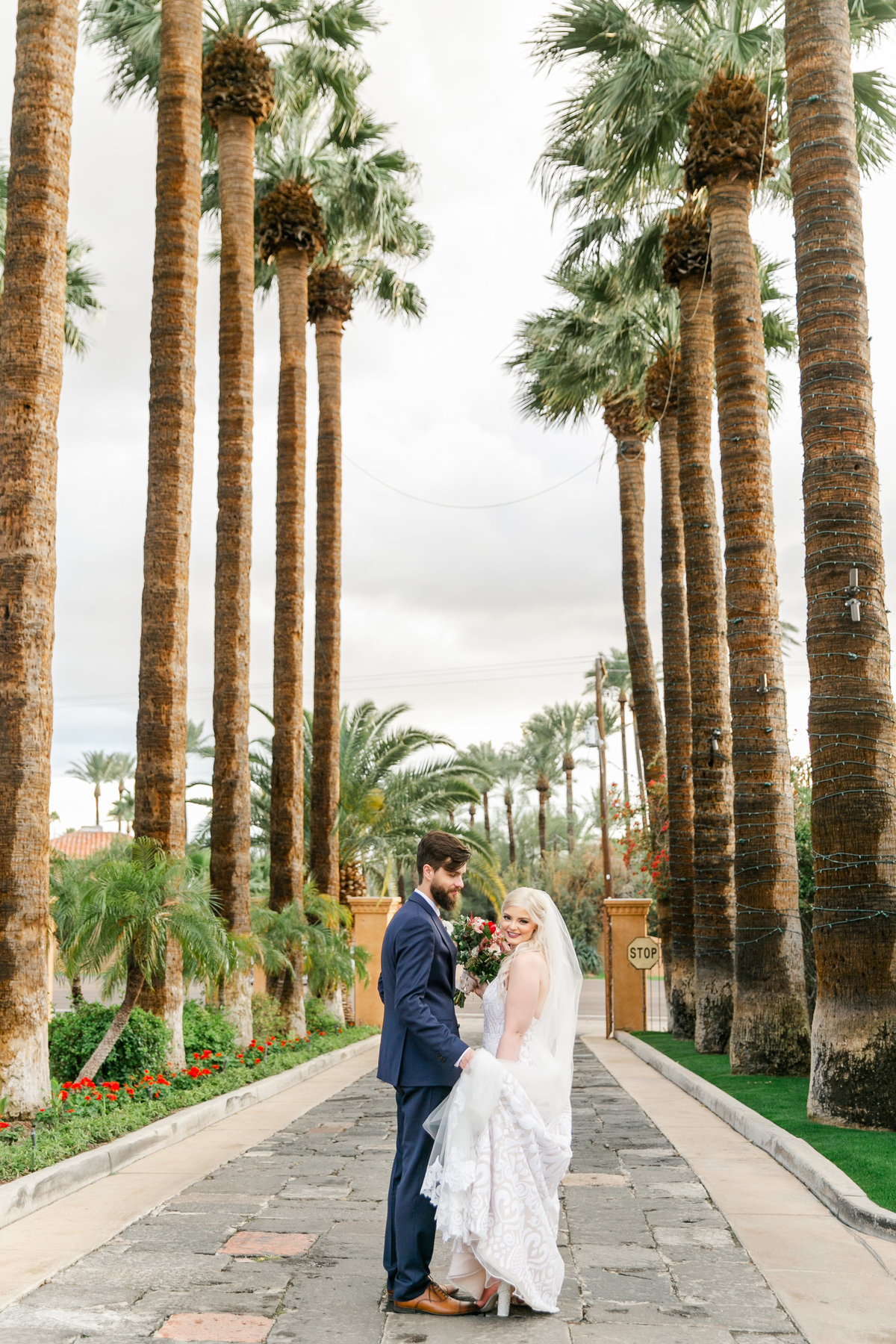 Karlie Colleen Photography - The Royal Palms Wedding - Some Like It Classic - Alex & Sam-575