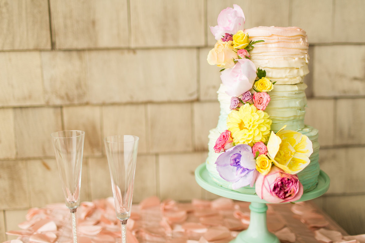 cheerful-teal-pink-yellow-purple-oceanfront-outer-banks-wedding-venue-shoot-43