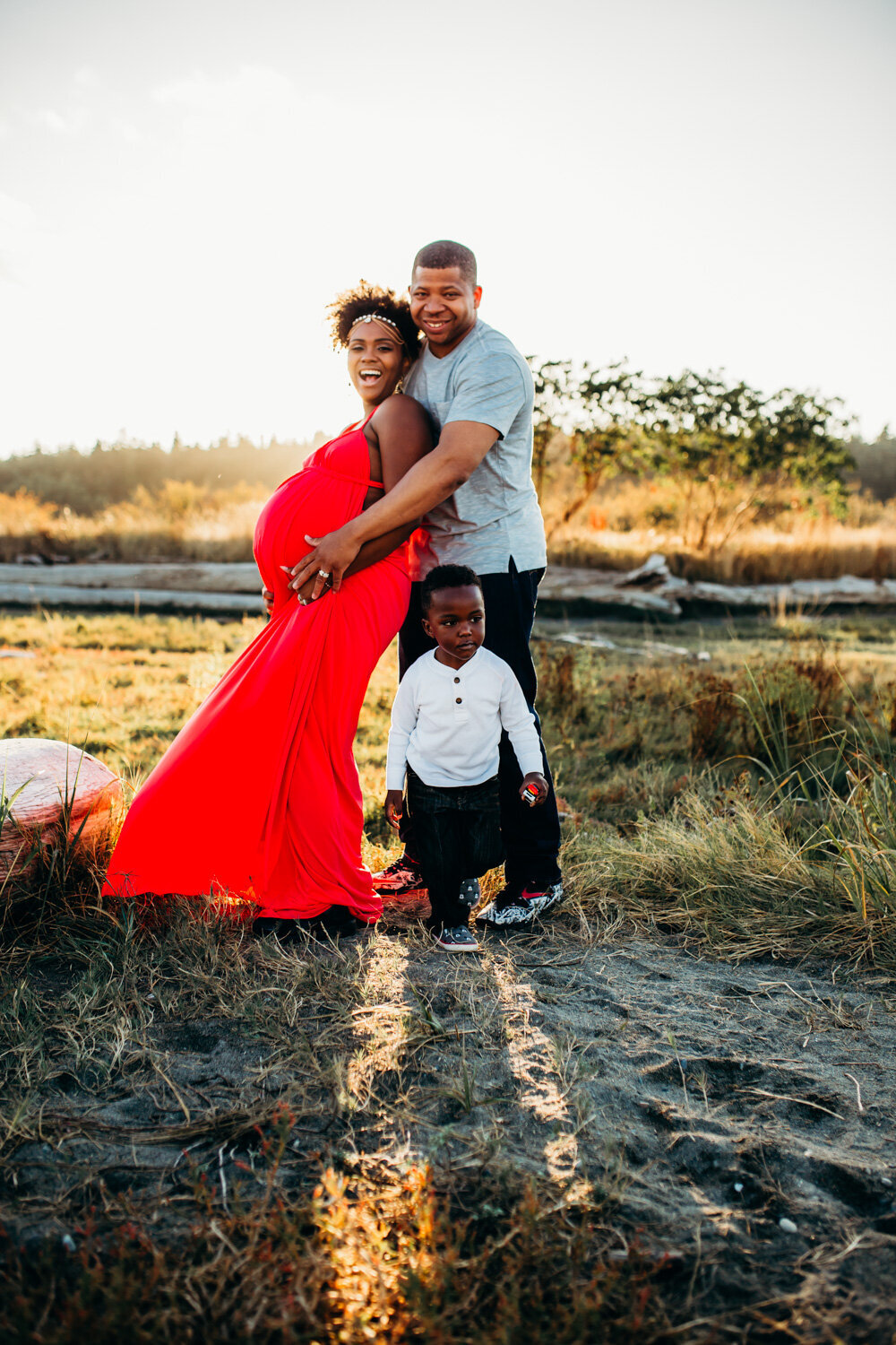 Camano Island Washington Maternity Photography-9