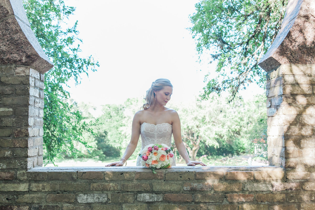 Austin Family Photographer, Tiffany Chapman, bride in frame
