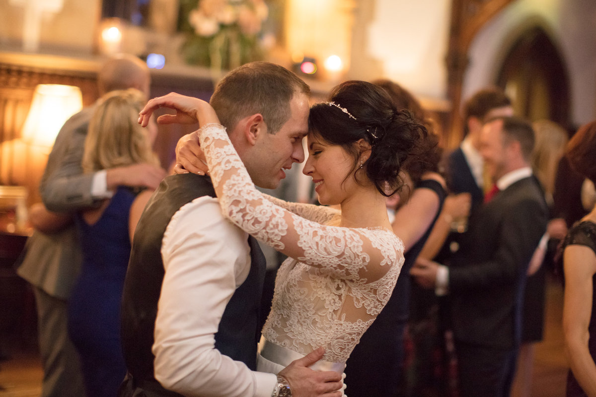 first dance november wedding at st audries park somerset