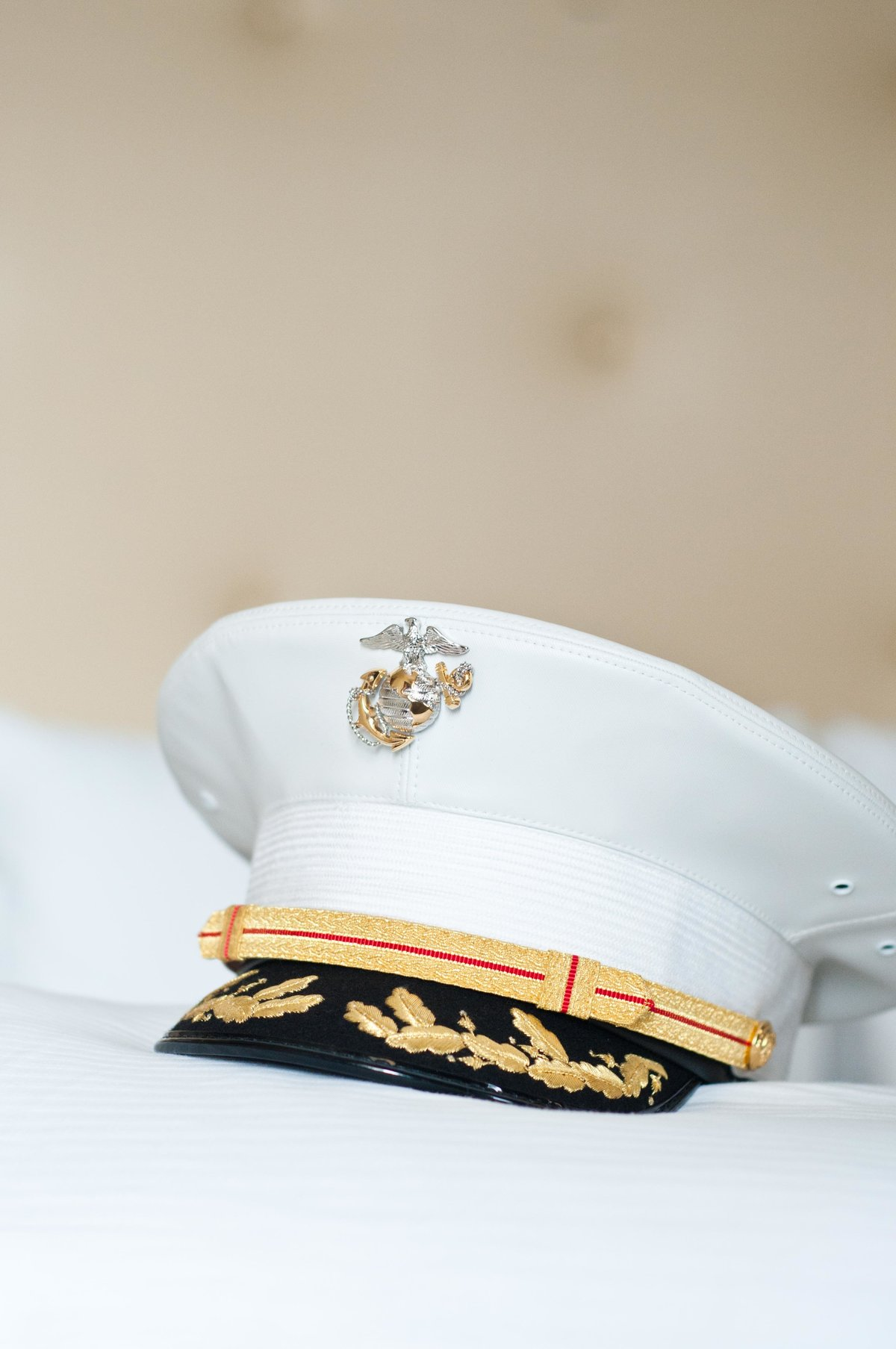 marine ceremonial hat