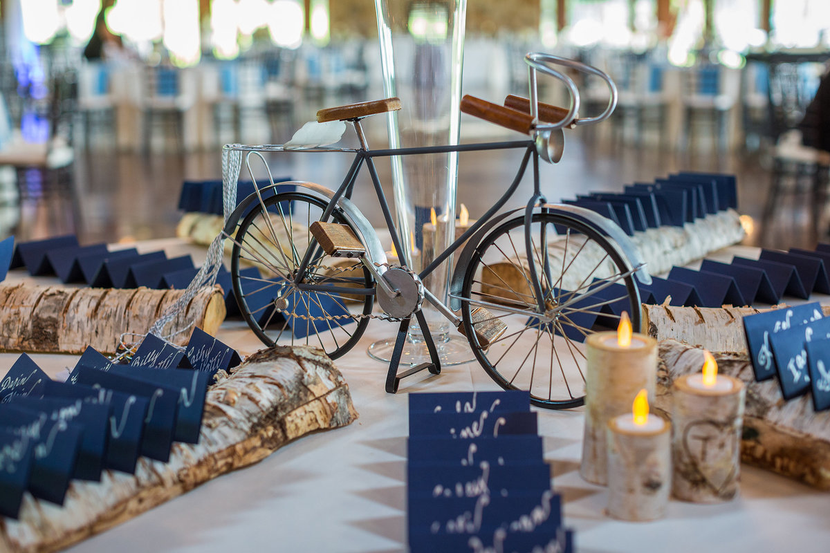 bicycle detail for wedding