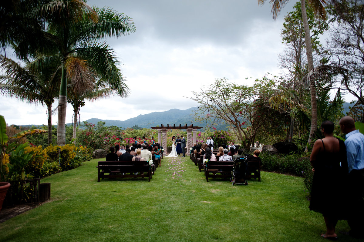wedding ceremony at hacienda siesta allegra
