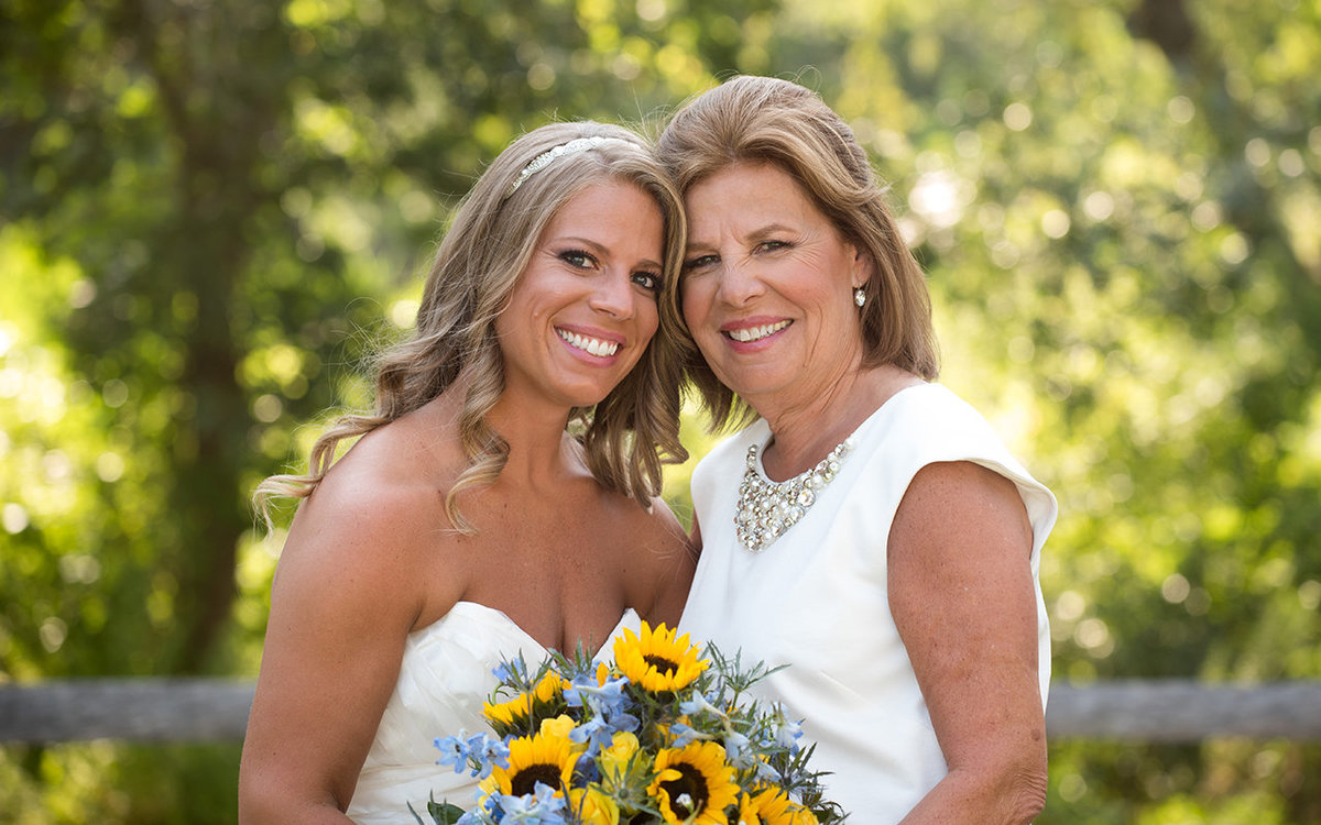 Mother of the Bride Portrait - Flair Bridal, Boston - Haley Paige Wedding Dress - Burton's Florist - Lands End, New York - Imagine Studios Photography - Wedding Photographer