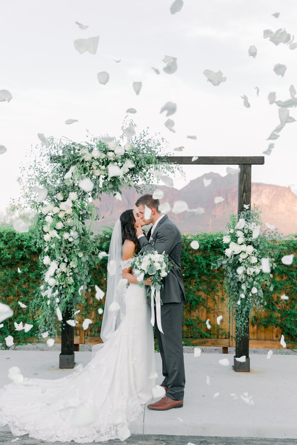 Karlie Colleen Photography - The Paseo Arizona Desert Wedding - Jackie & Ryan-168