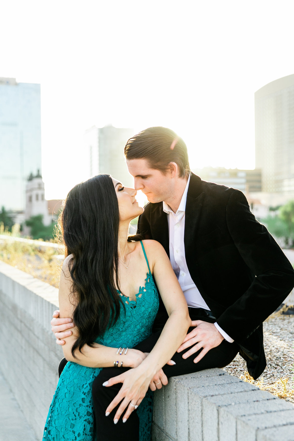 Karlie Colleen Photography - Arizona Engagement City Shoot - Kim & Tim-229