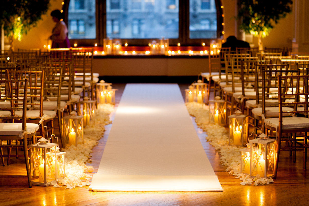 NYC Manhattan Penthouse Wedding Planner Colorful K. Barner Events 14