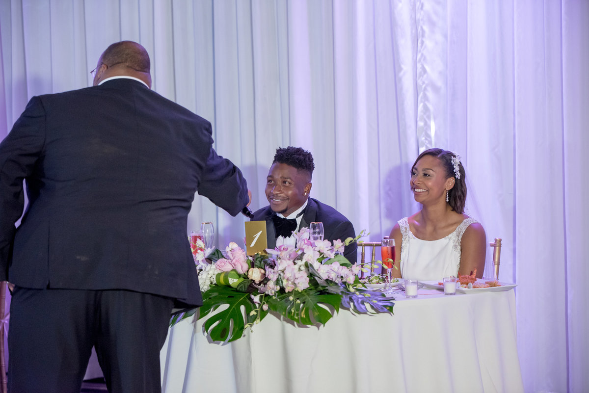 NFL Miami Dolphins Brandon Radcliff ShaKyra Radcliff Briza on the Bay Wedding Andrea Arostegui Photography-257