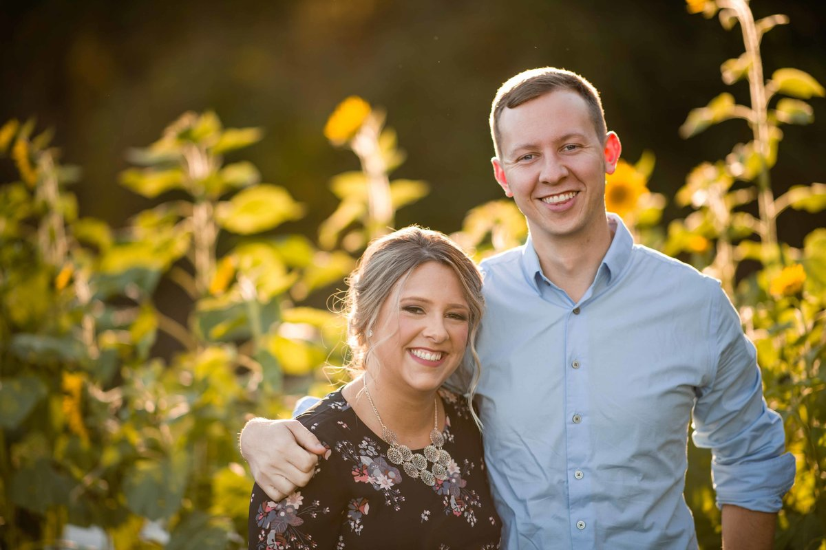 29 ct fall farm engagement photos with foliage for great river golf club wedding