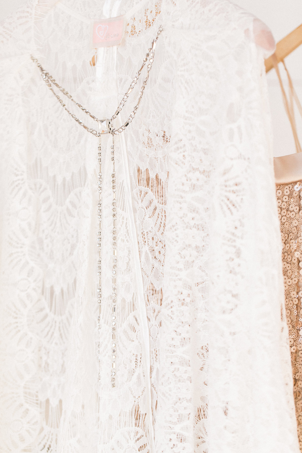 Lace Cape Detail Julee Collection