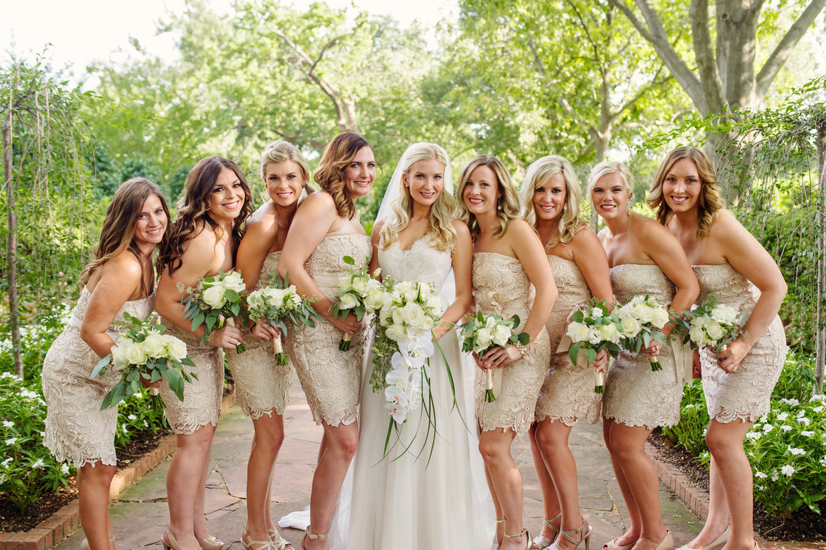 Dallas Arboretum Wedding by Celina Gomez Photography