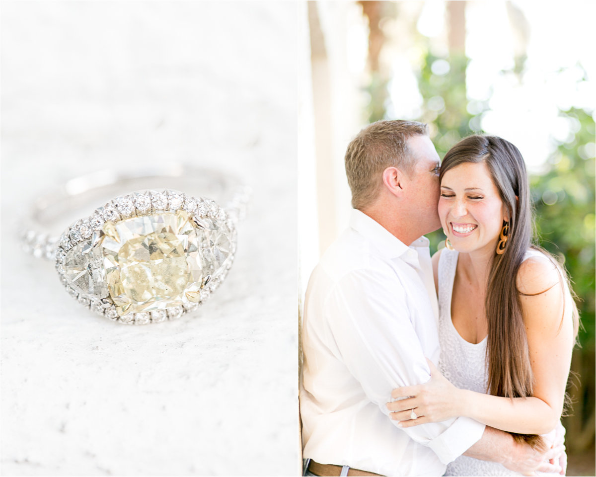 Beautiful winter park  engagement session