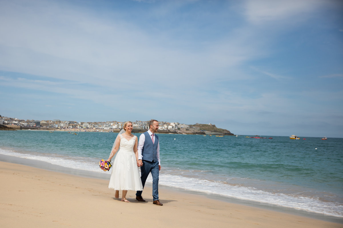 st ives wedding photography cornwall