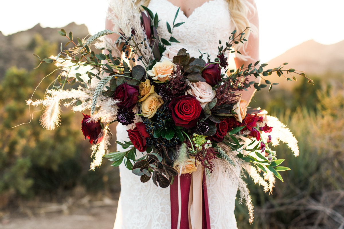fall bridal bouquet photo