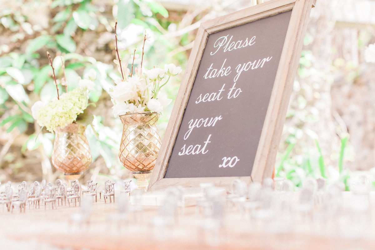 Chairs Wedding Escort Favors