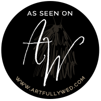 Artfully Wedding Featured Badge