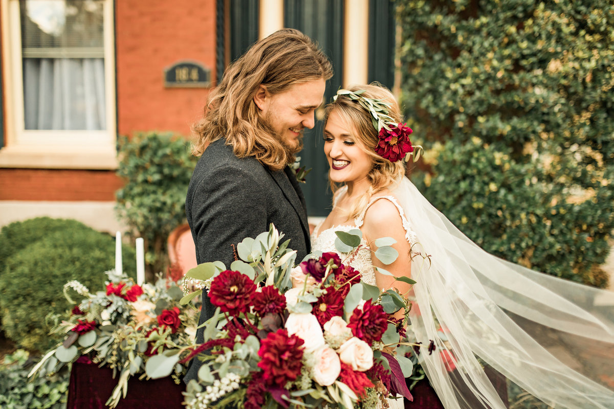 Fall Boho-Inspired Styled Shoot Lafayette Square Historic District  St. Louis, Missouri  Allison Slater Photography  Wedding Photographer332