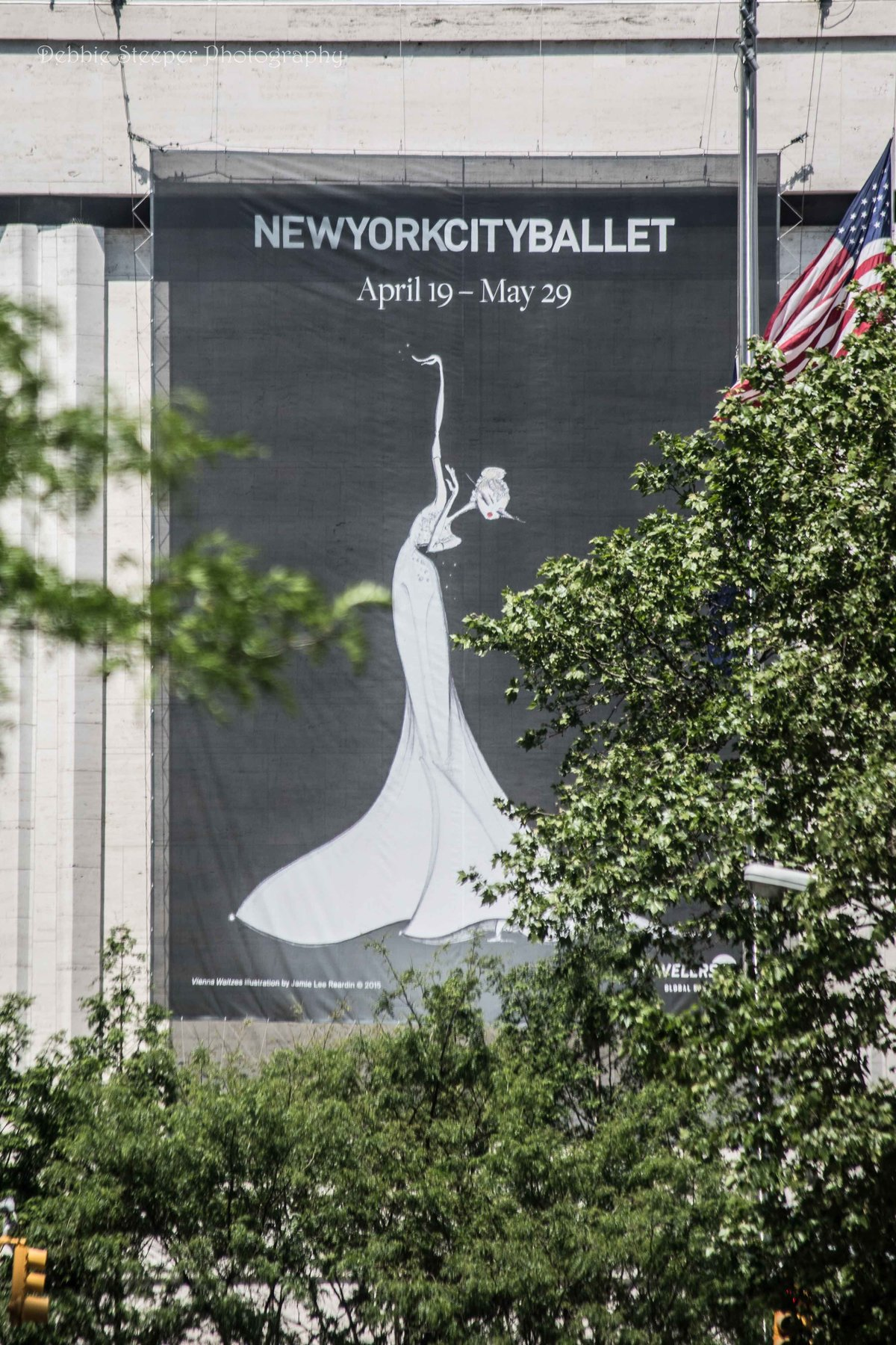 New York Ballet sign