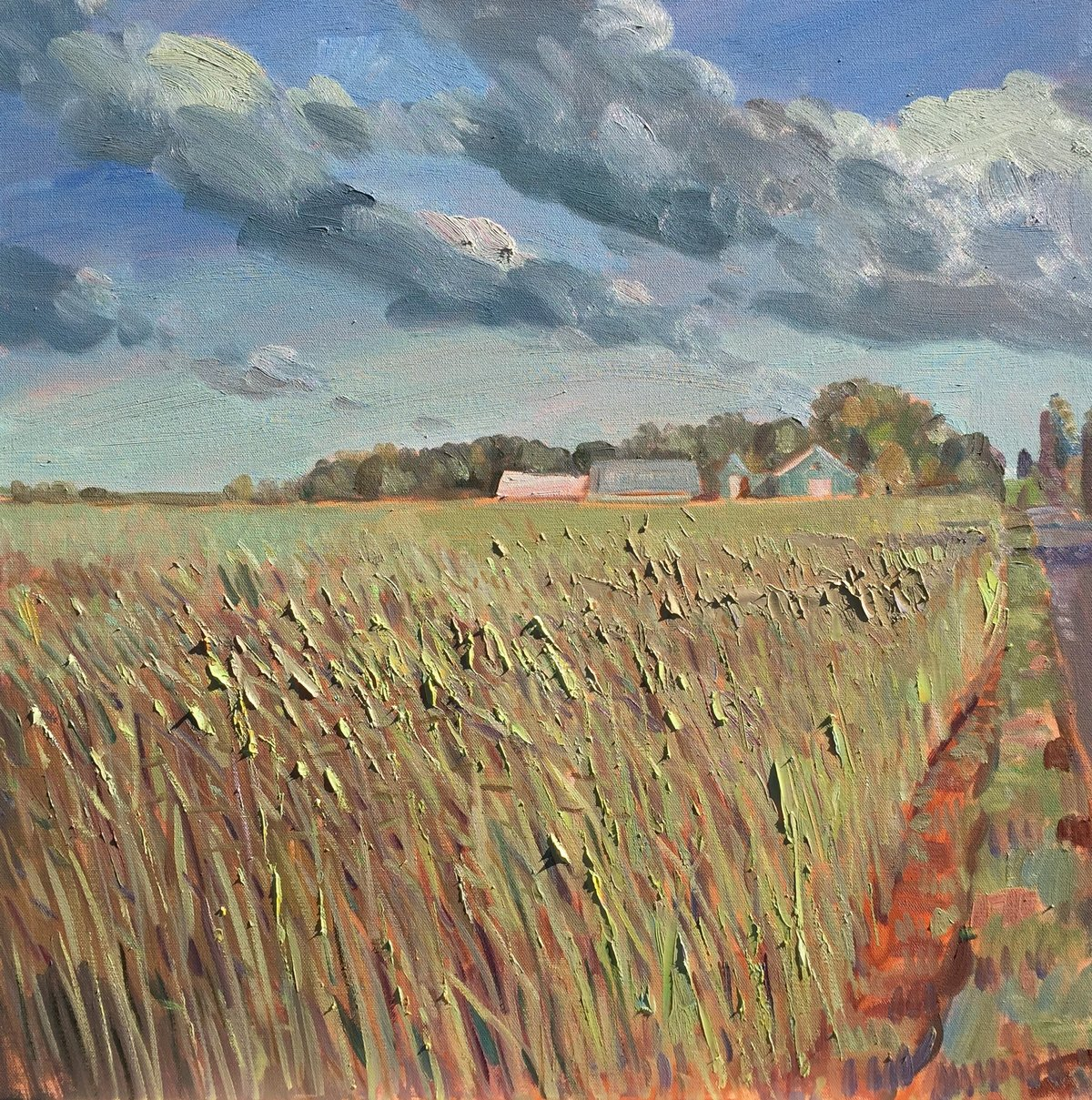 High Grass on Manor Lane 24 x 24 ooc  4000