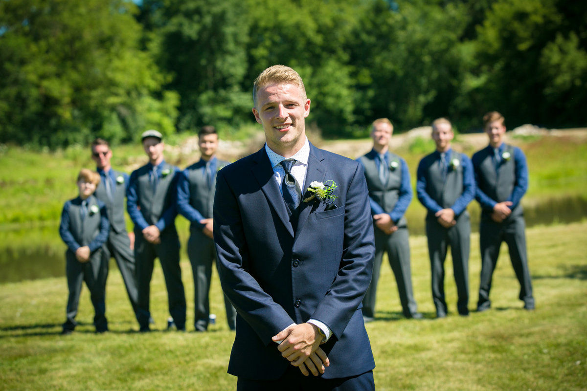 Jordan & Taylor's Outdoor Wisconsin Northwoods Wedding Photos by Amenson Studio-0100
