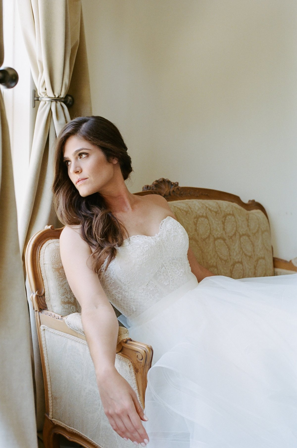 Los Angeles film wedding photographer, Newhall Mansion
