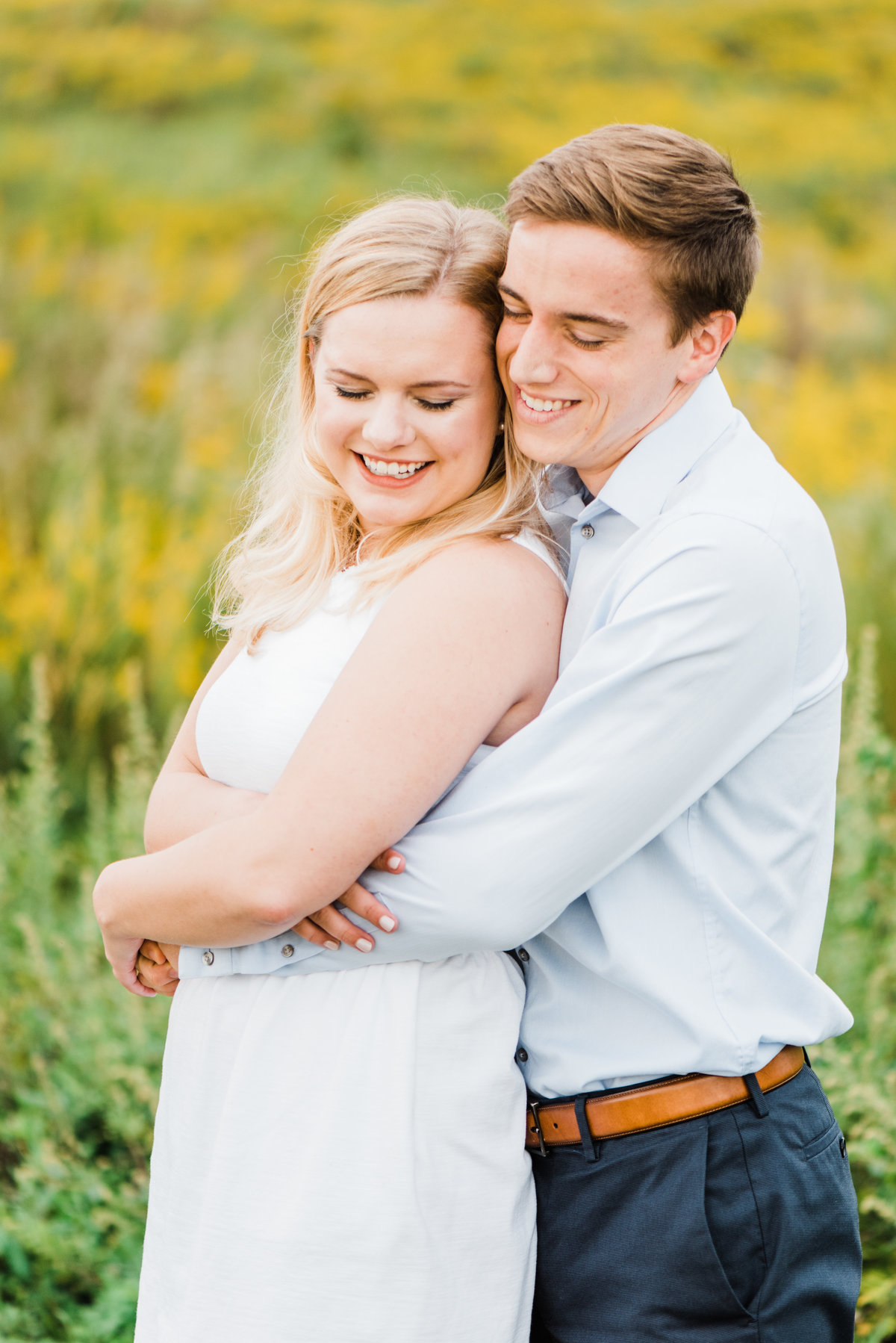 charlottesville engagement photo
