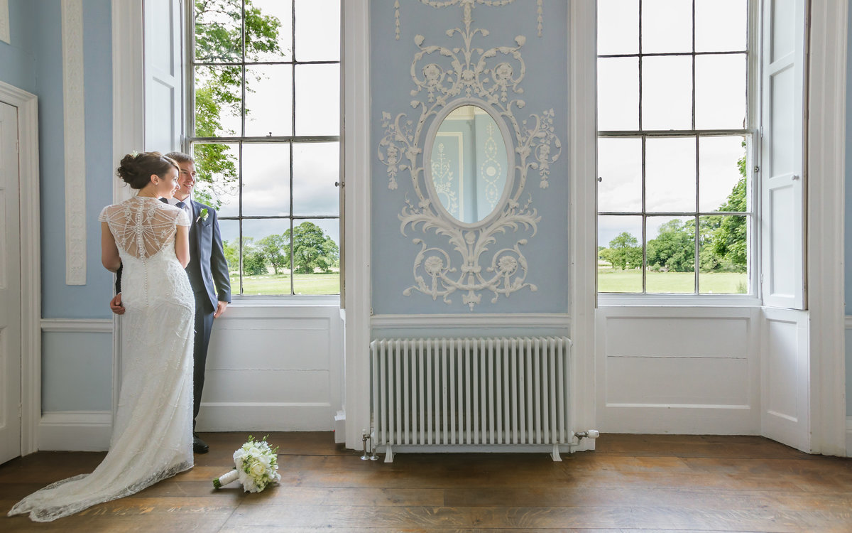 wedding portrait at somerford hall