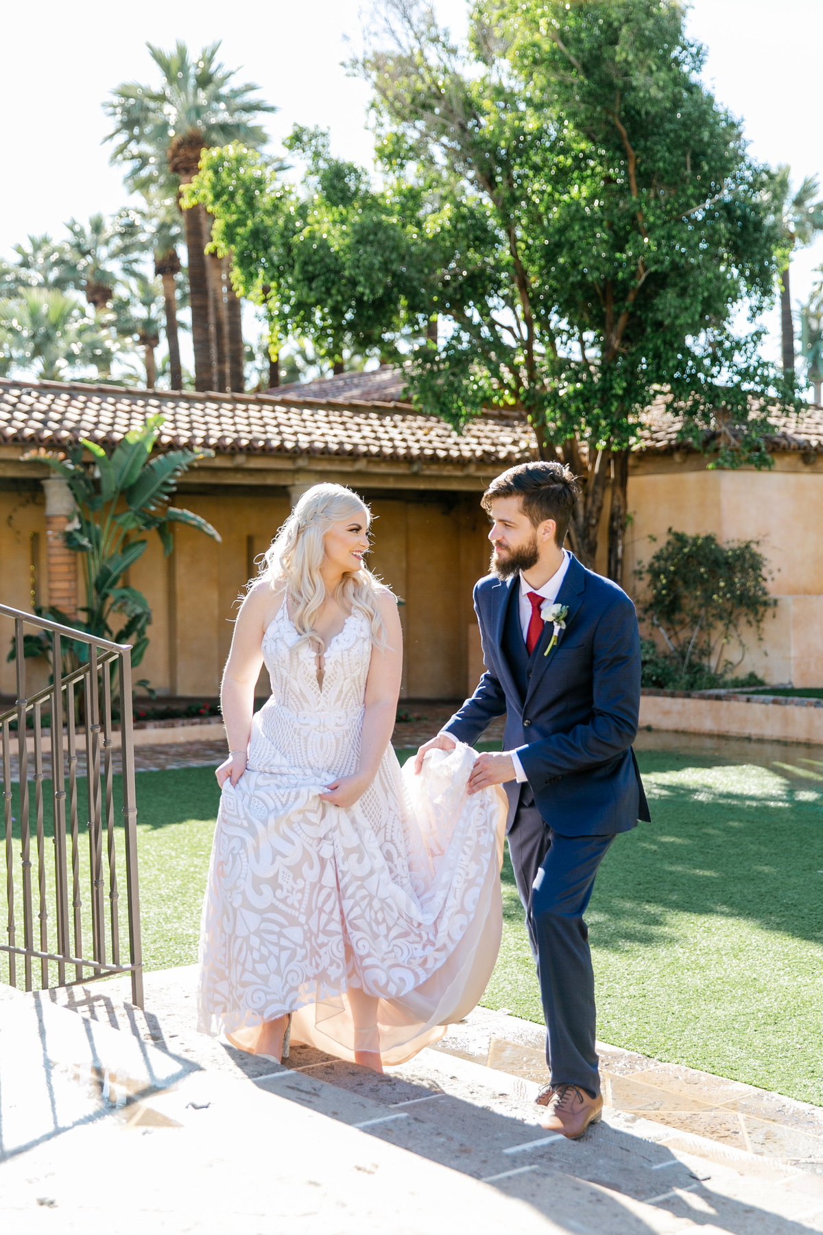 Karlie Colleen Photography - The Royal Palms Wedding - Some Like It Classic - Alex & Sam-175