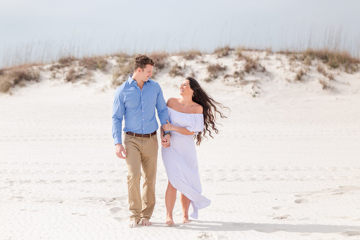 gulf shores engagement session