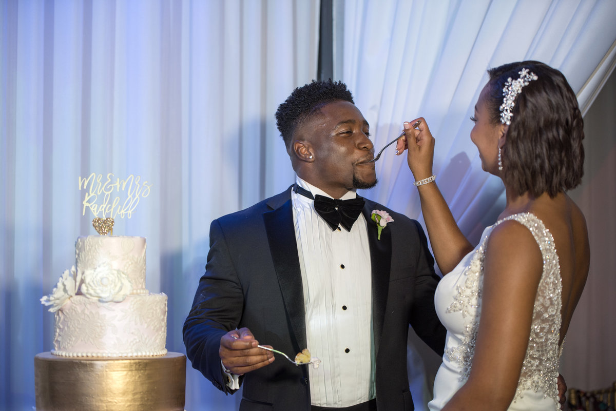 NFL Miami Dolphins Brandon Radcliff ShaKyra Radcliff Briza on the Bay Wedding Andrea Arostegui Photography-284