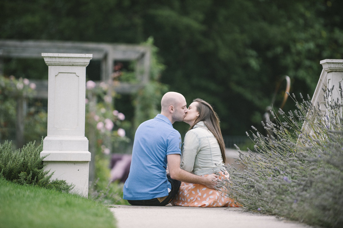 pre wedding images in lavender