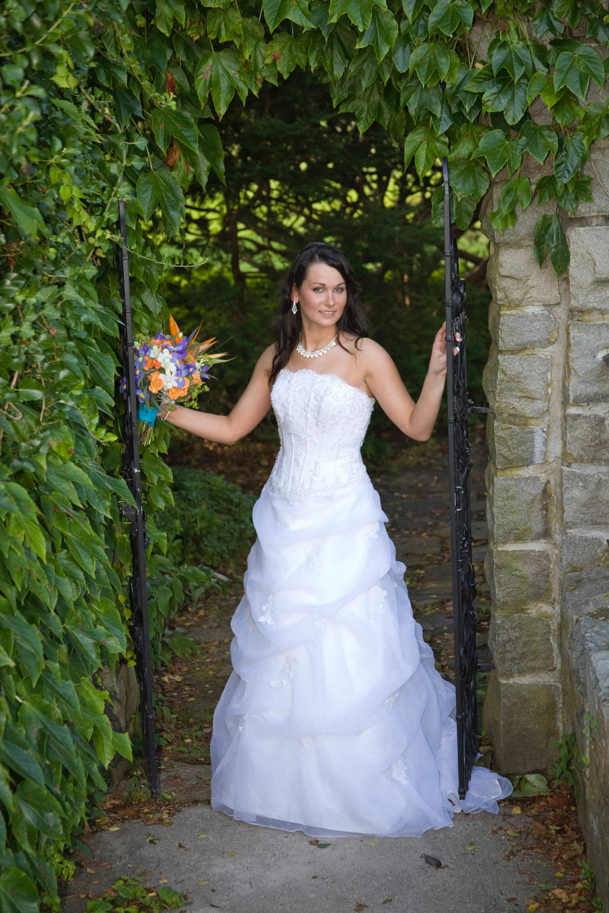 bride at Harkness State Park