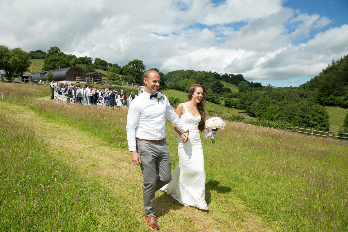 stunning countryside wedding in july
