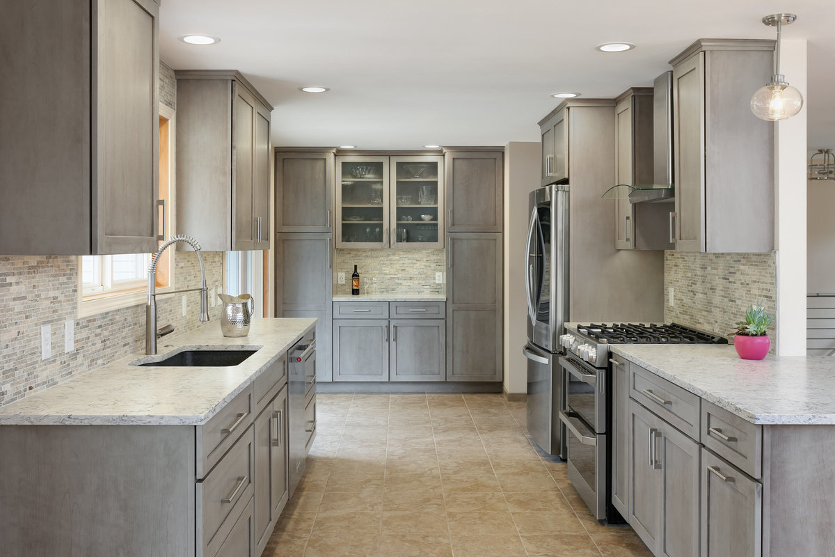 burien - grey - kitchen - shaker - washington