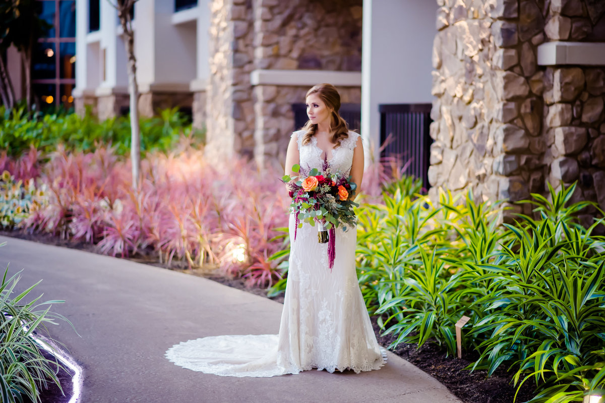 bride at Gaylord Texan in Grapevine