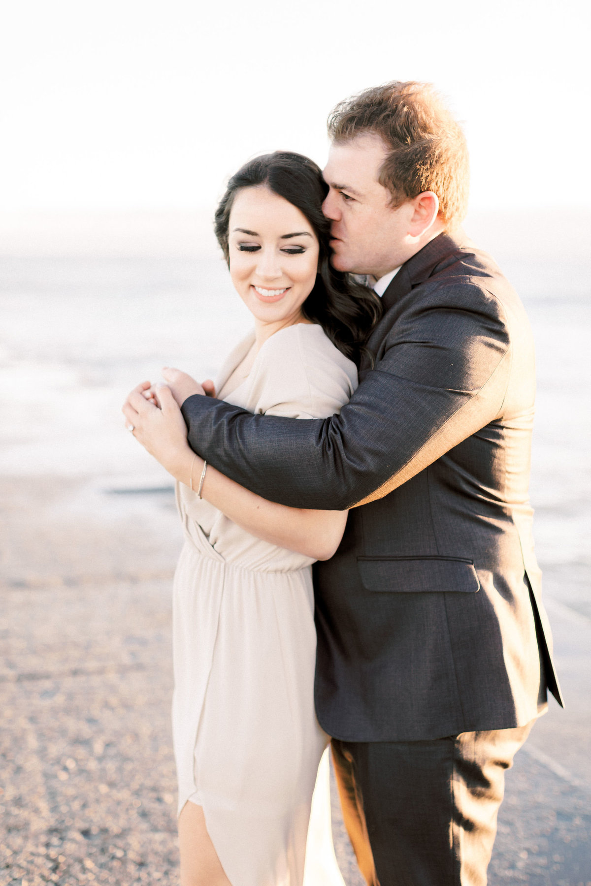 TiffaneyChildsPhotography-ChicagoWeddingPhotographer-Frankie+Brian-NorthAvenueBeach&RiverwalkEngagementSession-49