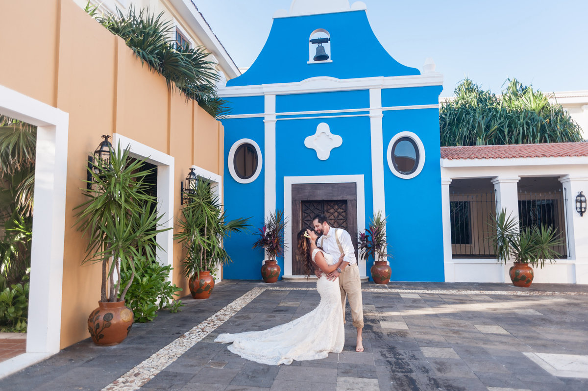 Dreams Tulum wedding photo