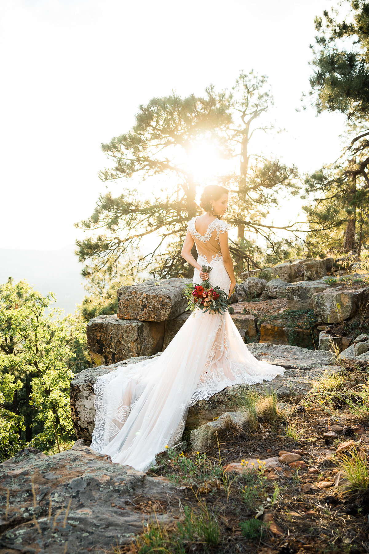 Mountain Elopement Wedding In Arizona  - Atlas Rose Photography AZ 02