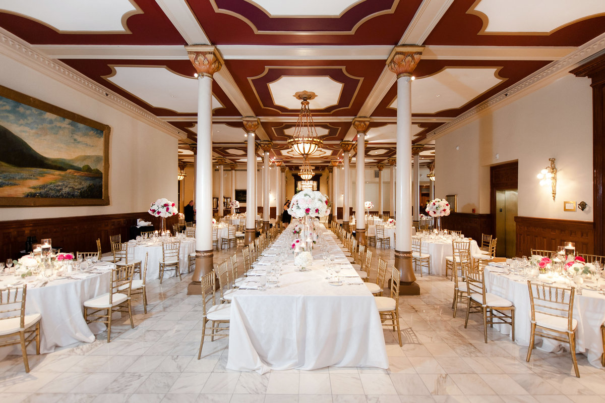 The Driskill Hotel wedding
