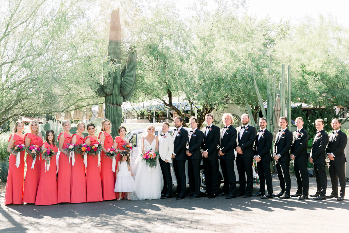 Karlie Colleen Photography - El Chorro Arizona Desert Wedding - Kylie & Doug-381