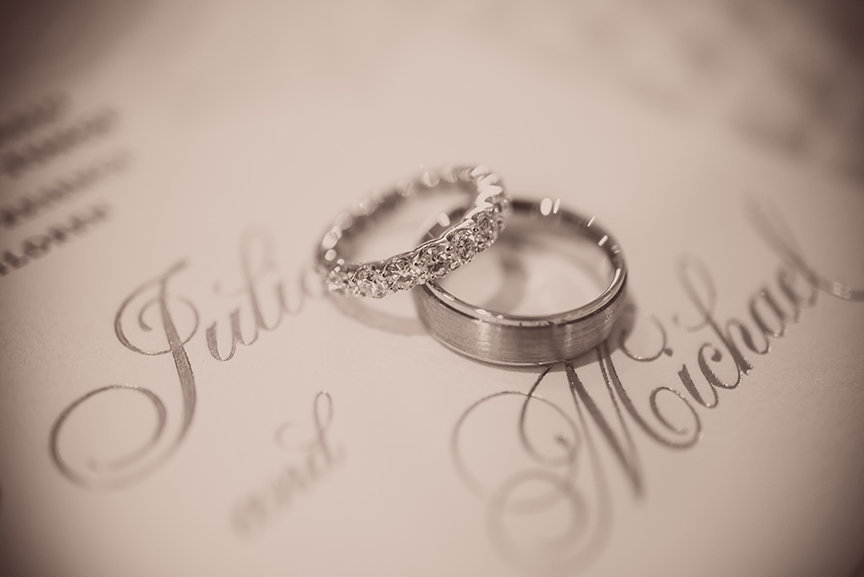 Wedding Rings - De Seversky Mansion, New York - Imagine Studios Photography - Wedding Photographer