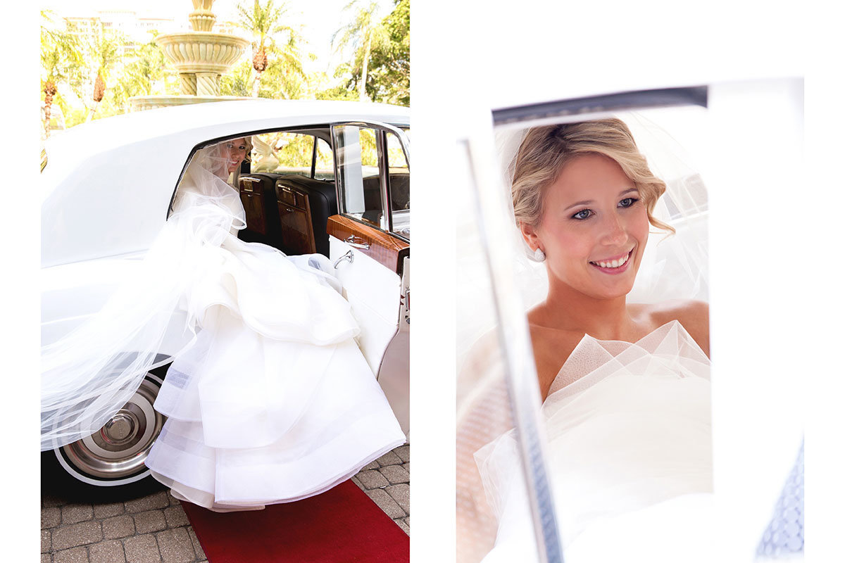 ritz carlton naples florida bride rolls royce