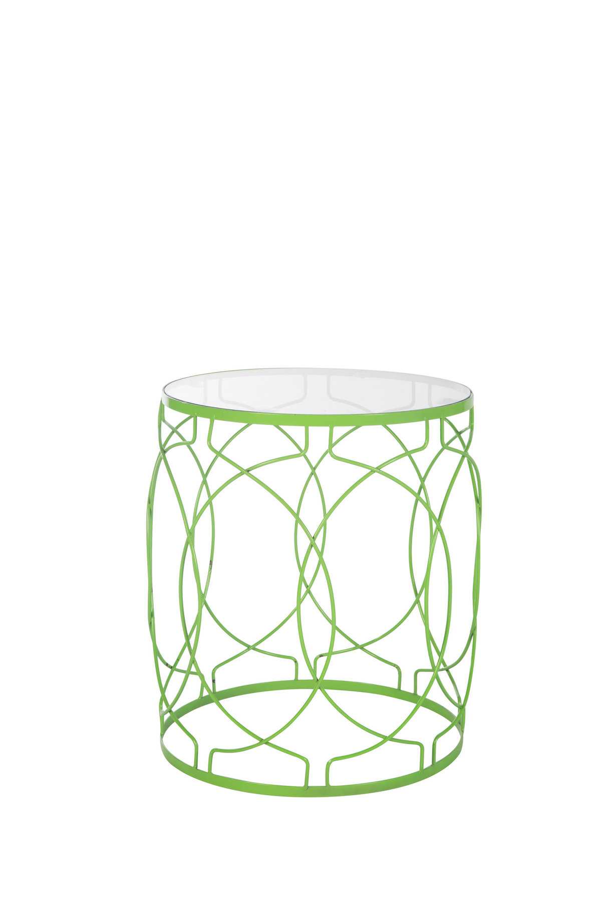 Lime Green Accent Table