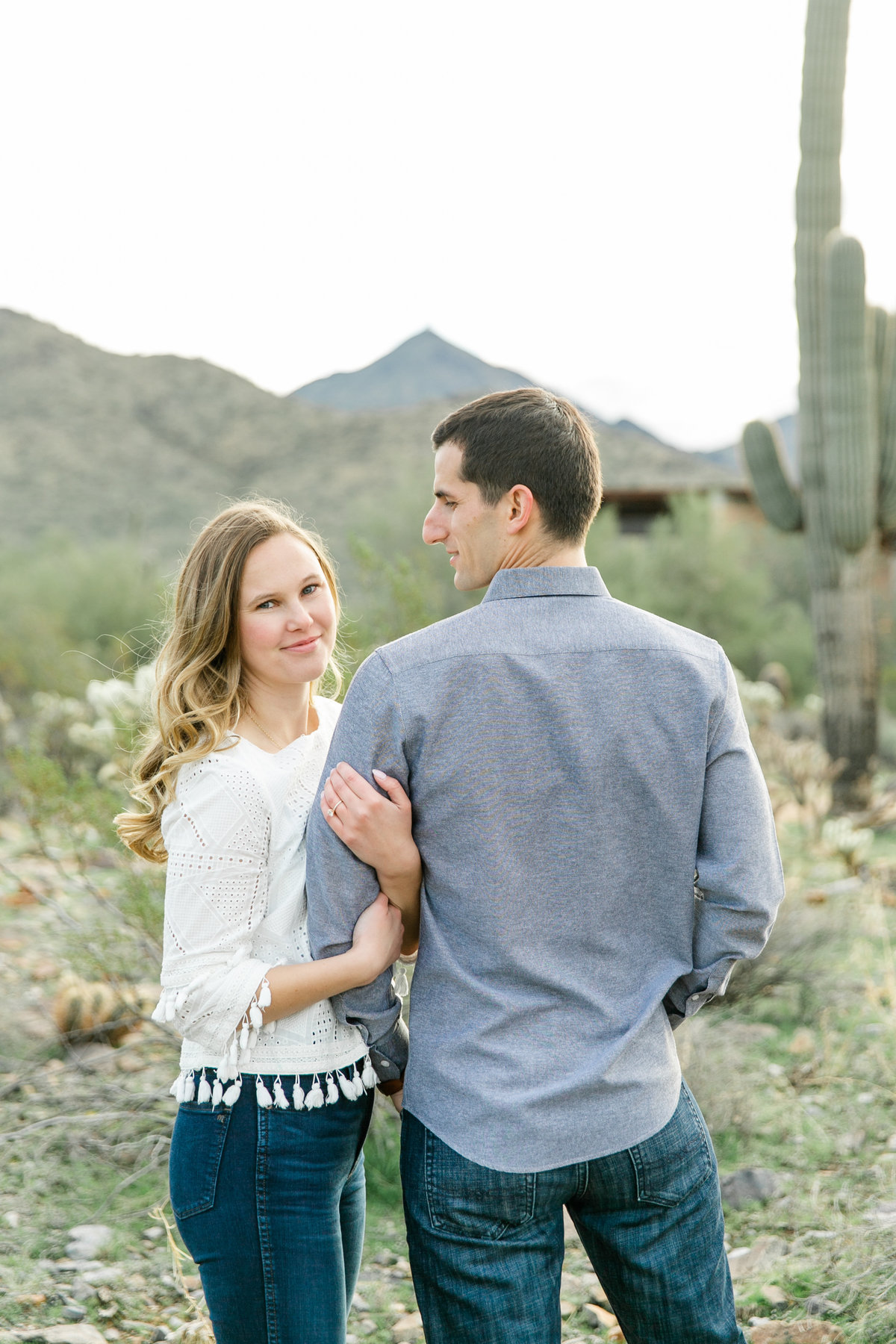 Karlie Colleen Photography - Katherine & Mike Arizona Engagement session- Andaz Wedding-90