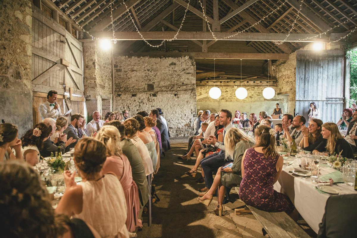 WEDDING SPEECH BARN