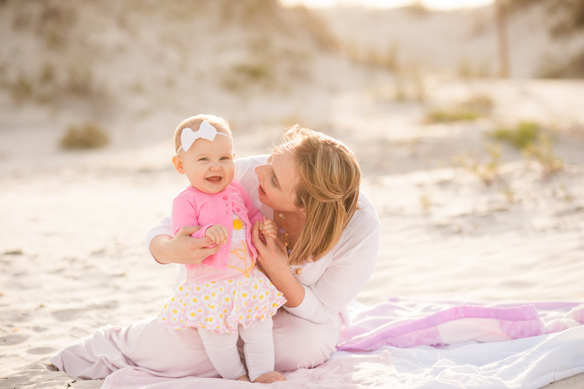 Daytona Beach family and baby photography
